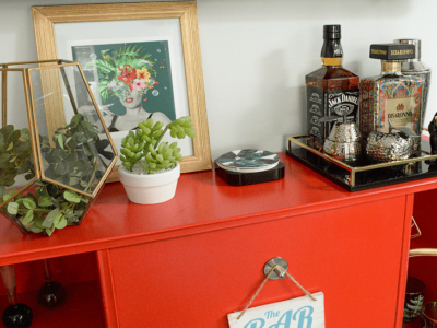 How to Upcycle Furniture – My Retro Cocktail Cabinet