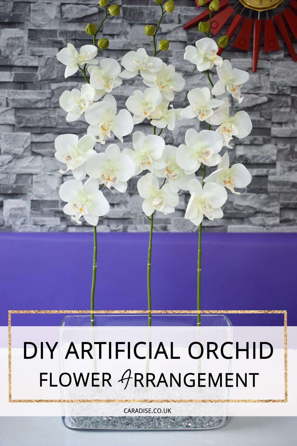 How To Make An Artificial Flower Arrangement Caradise