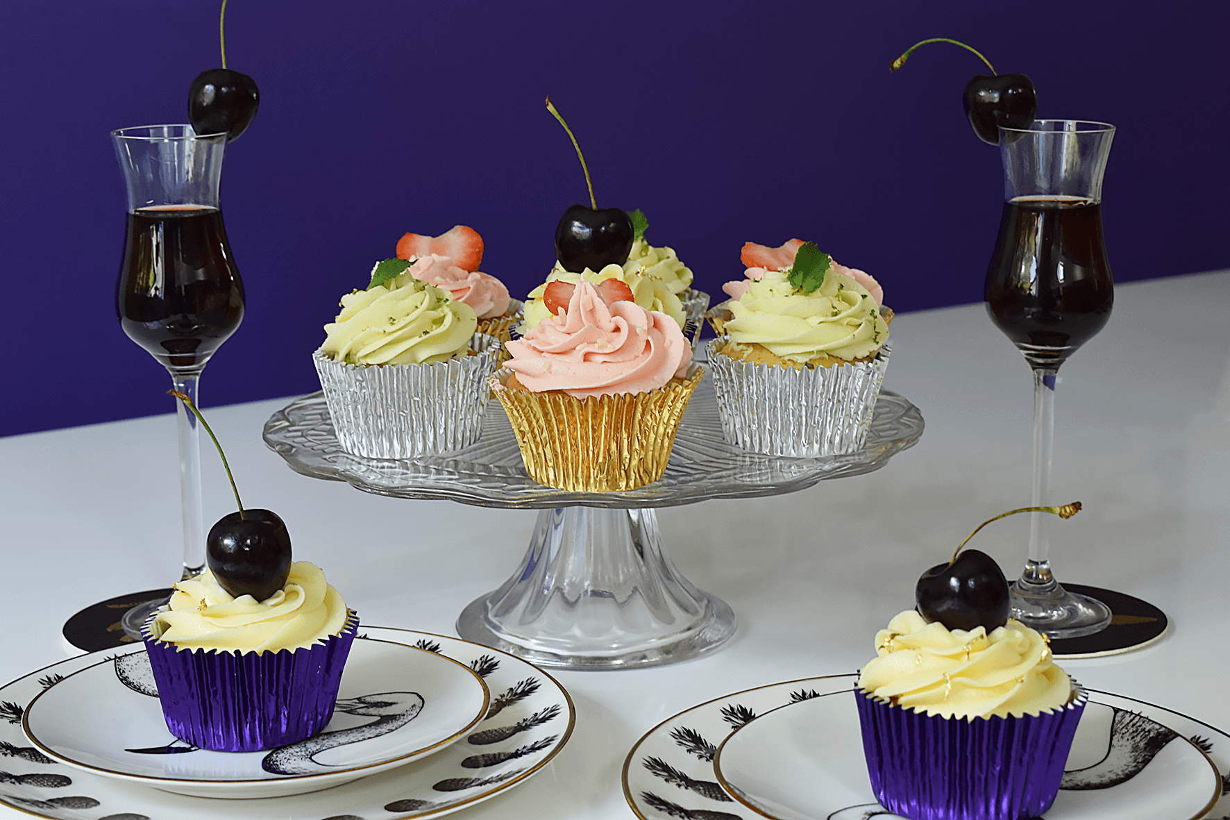 cocktail cupcake recipes and ideas