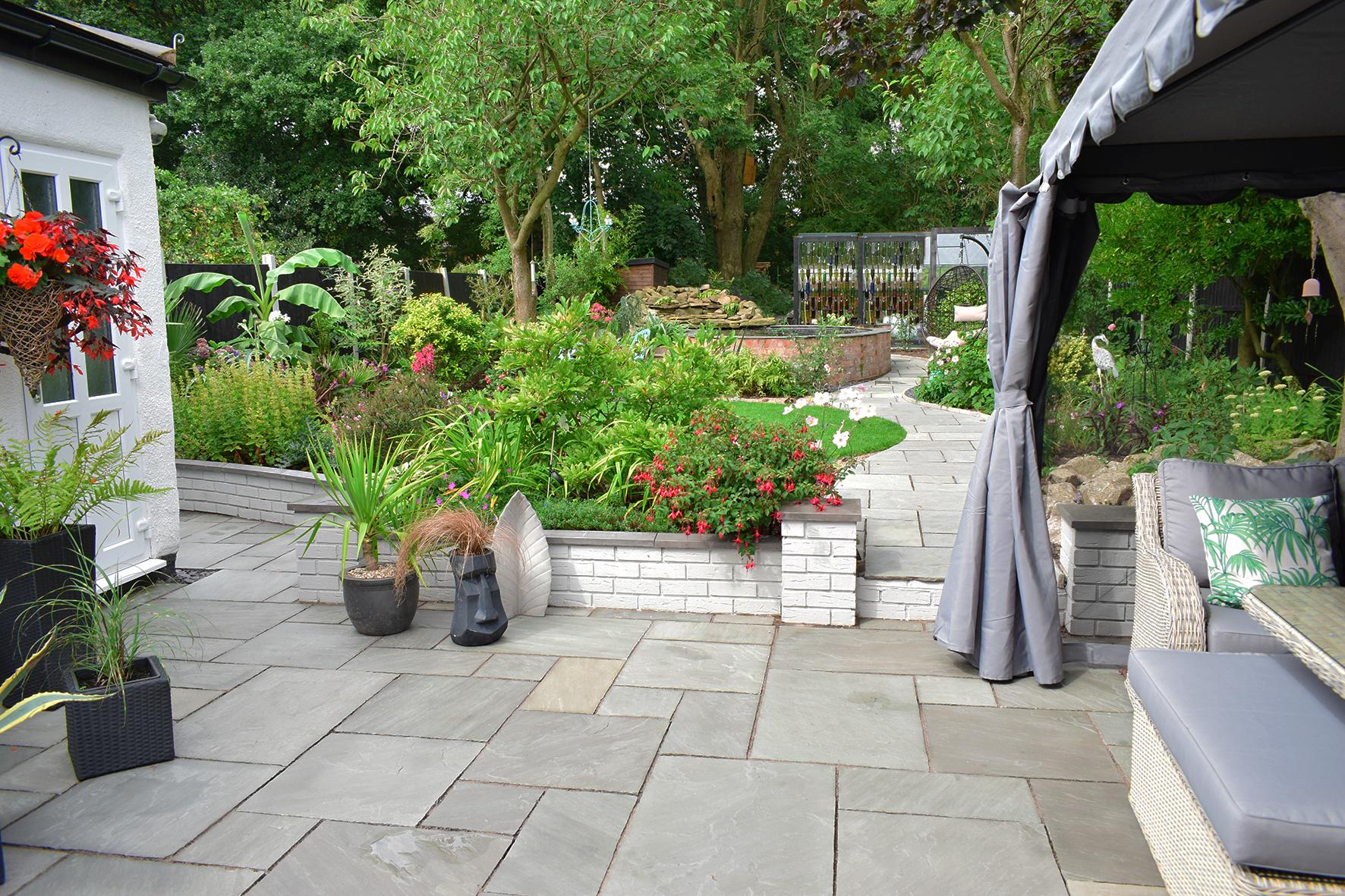 Garden Patio After