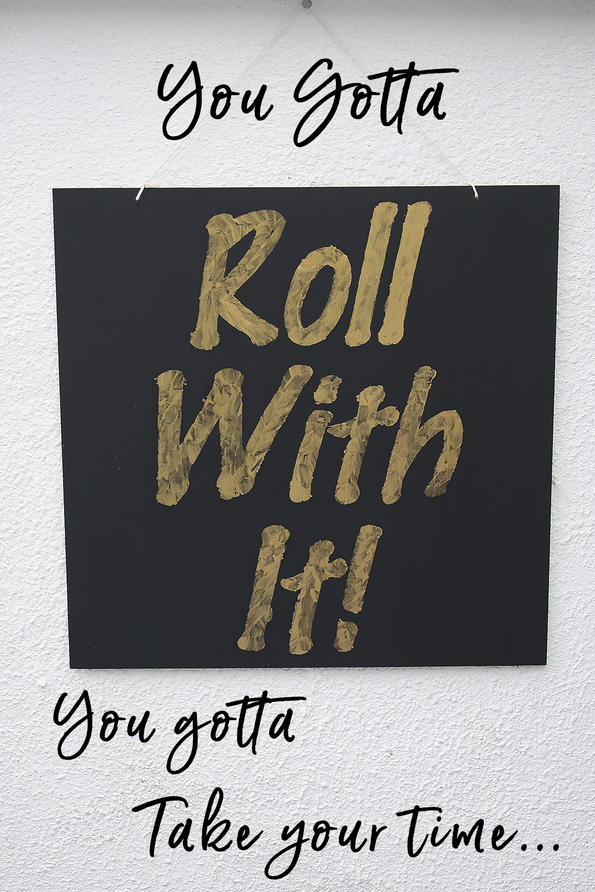 Roll with it outdoor art