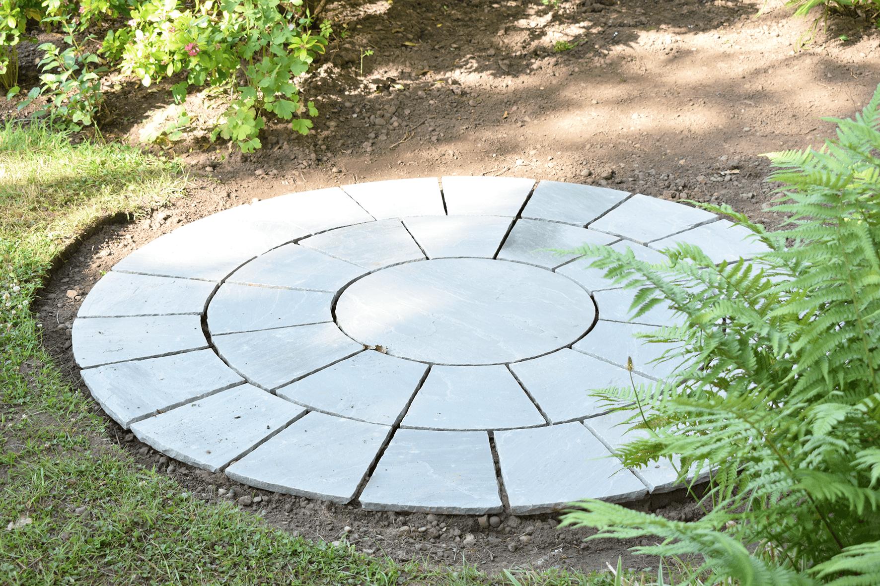 garden stone circle