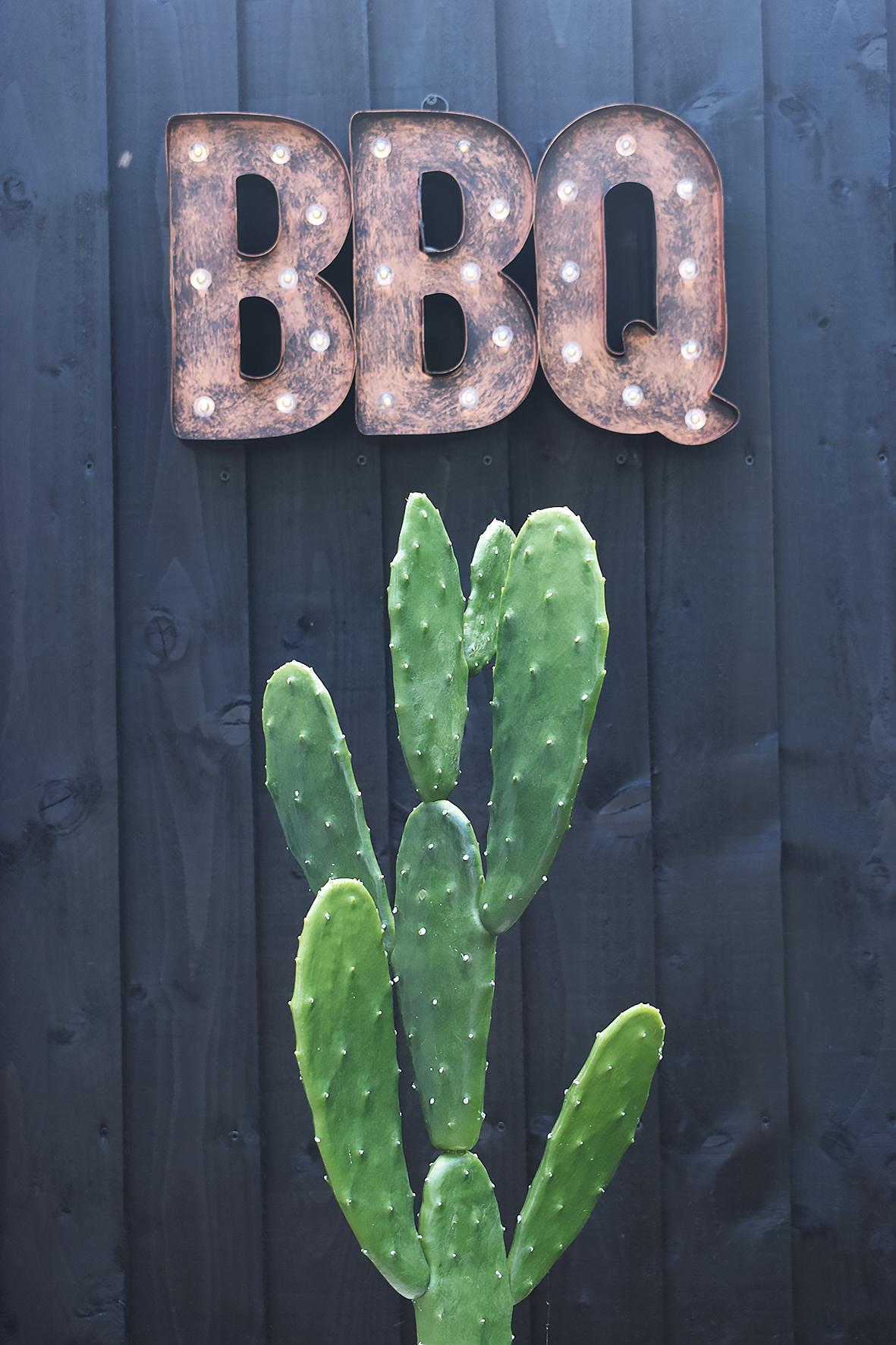 LED BBQ Sign