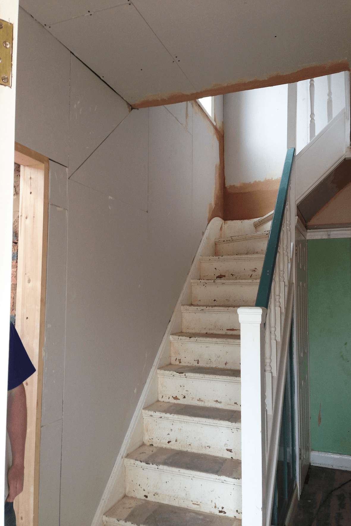 Stairs Boarded