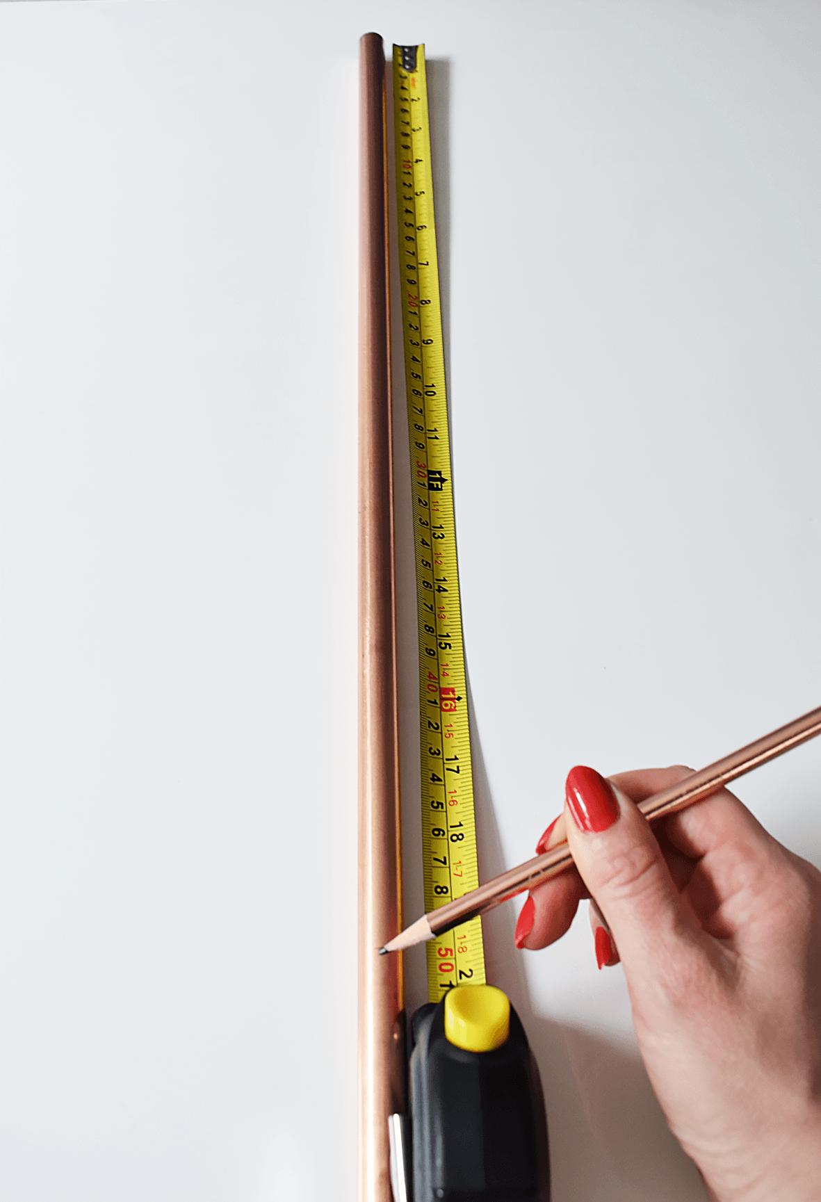 Measure Copper Pipe