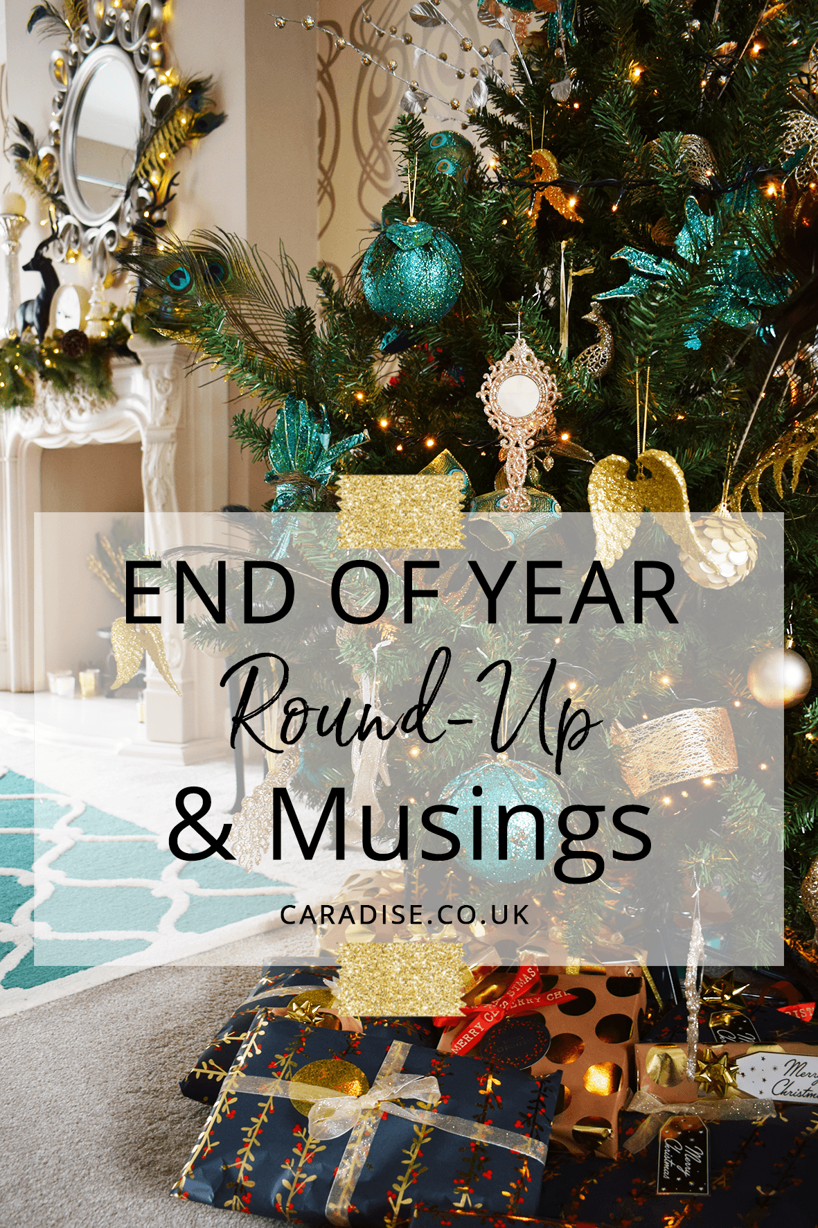 End of year round-up and musings
