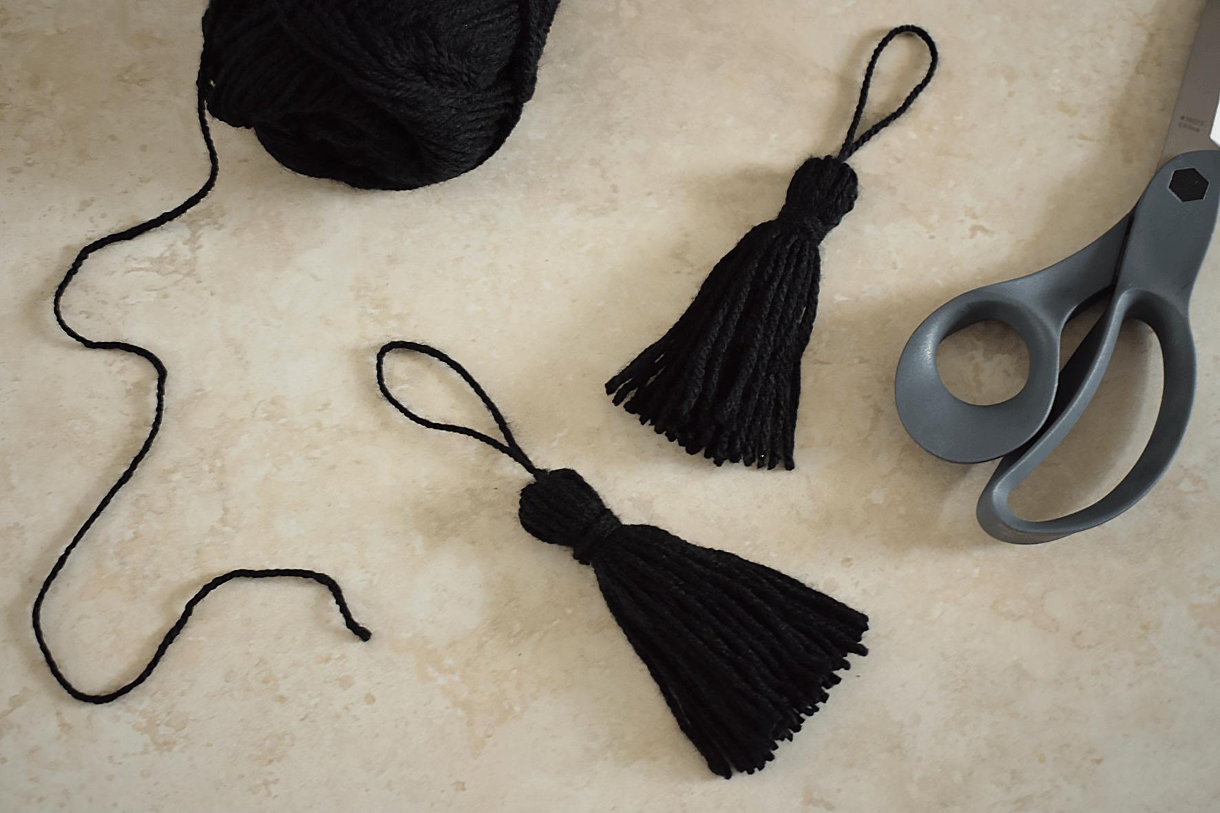 DIY Belly Basket Tassels