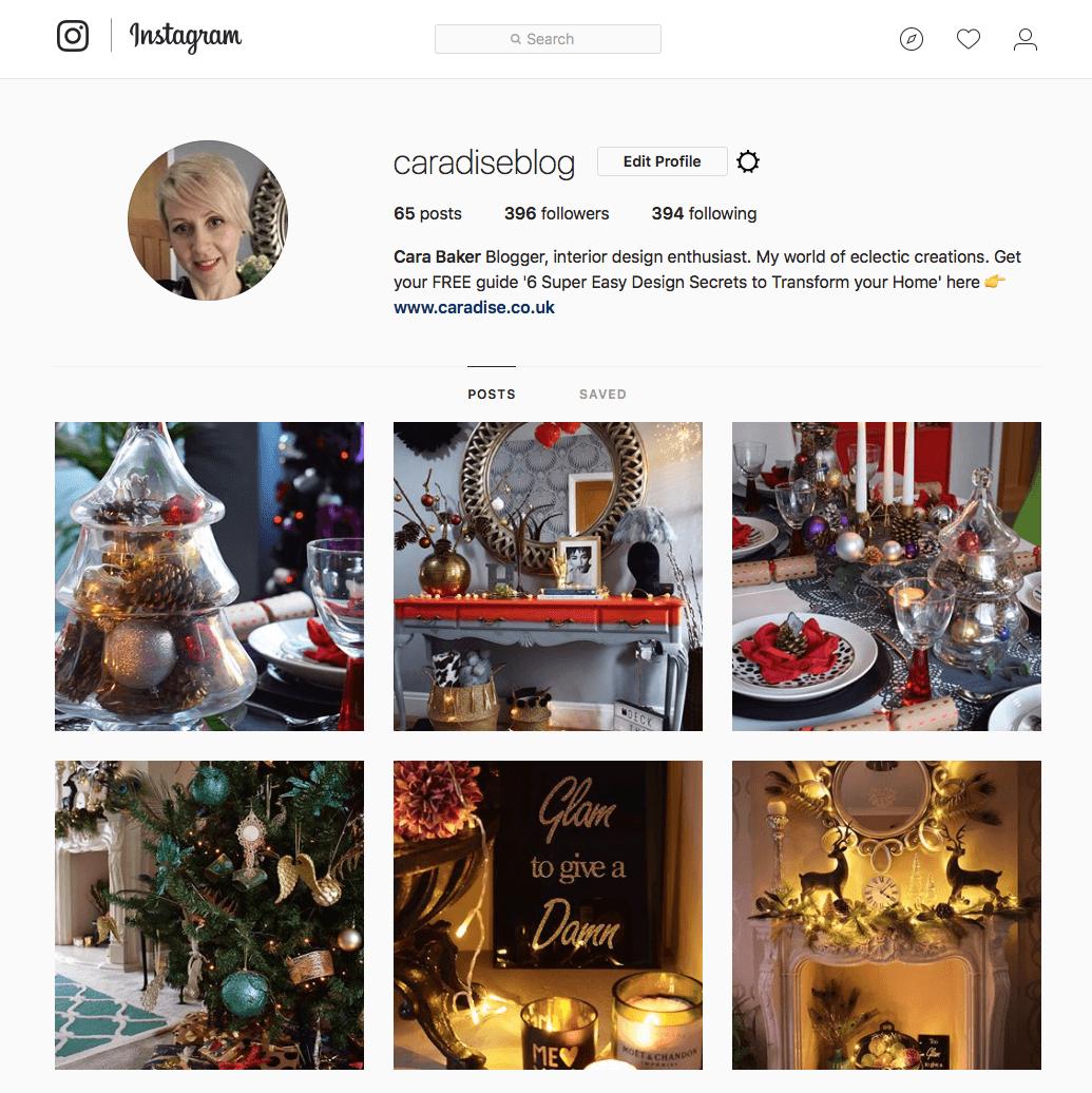 Caradise Instagram
