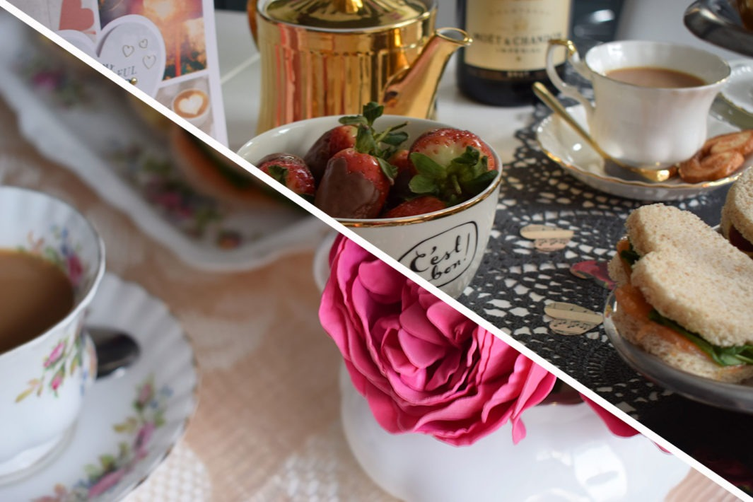Valentine's Tea Table Inspiration: Glam and Vintage