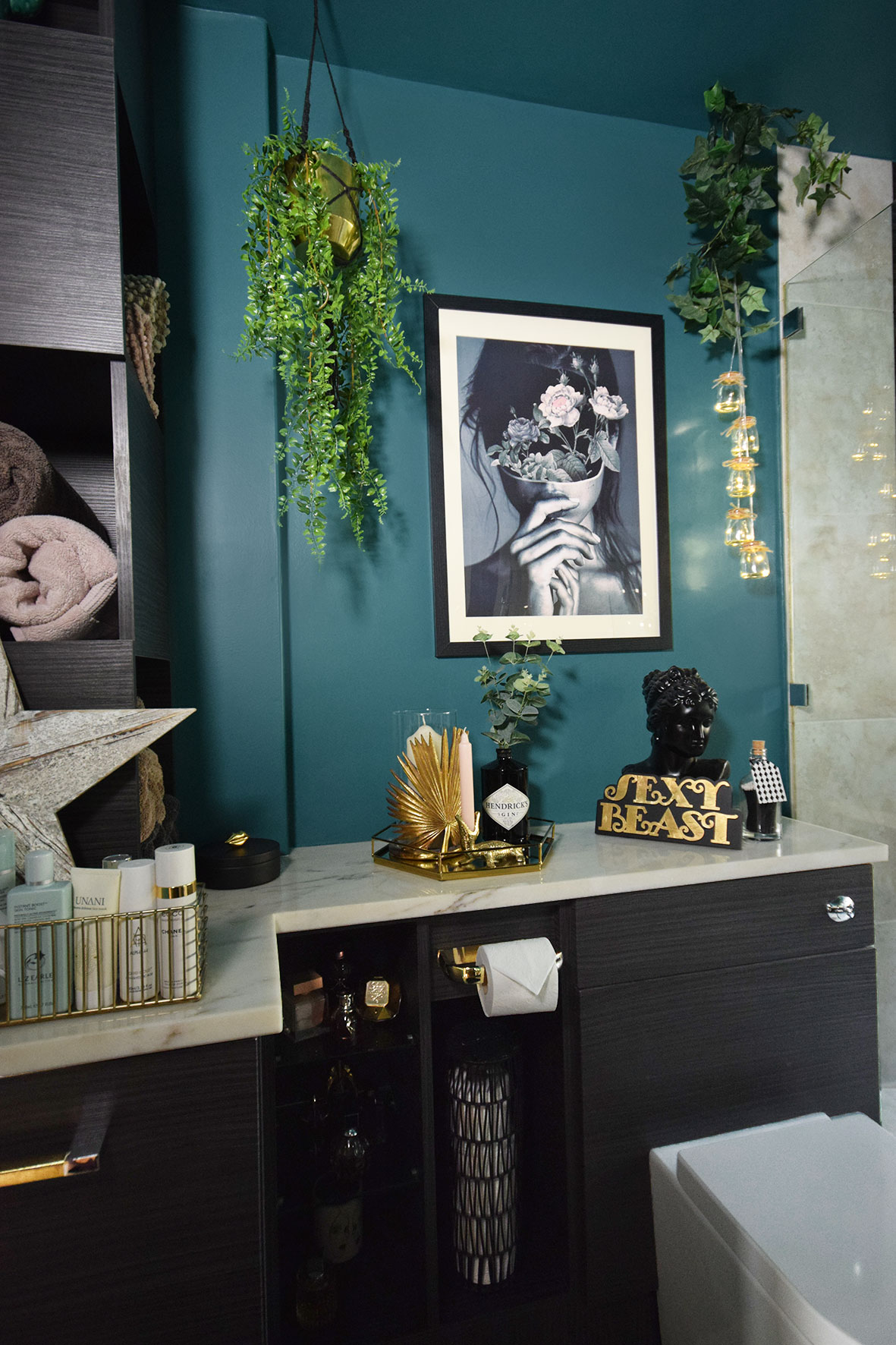 Caradise & Luxury Teal Master Bathroom Makeover Reveal - Part 1 - Caradise