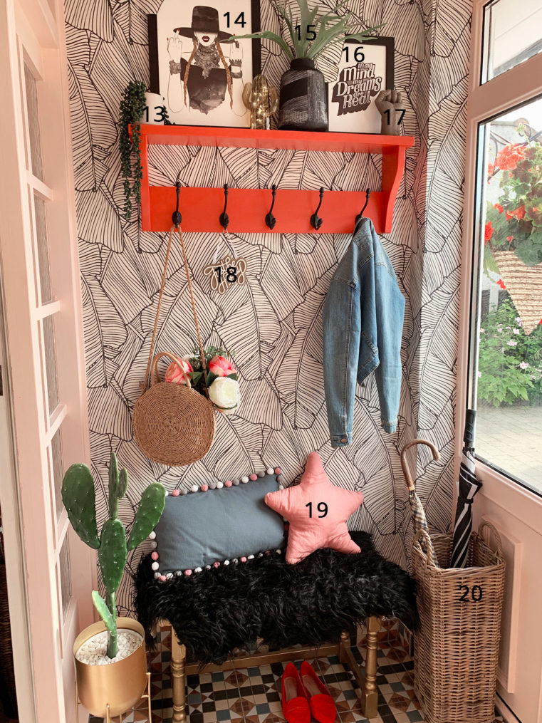 Quirky Boho Entrance Porch Makeover Reveal Caradise